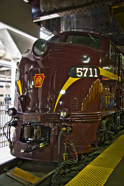 Pennsylvania Railroad Heritage Unit No. 5711