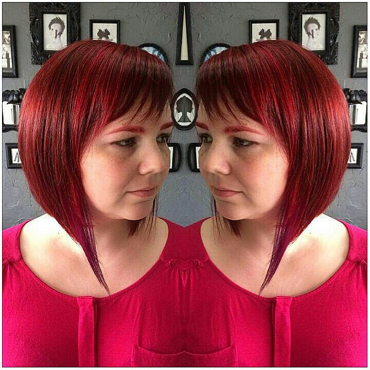 e94268e47a ... Multi Red Toned Hair Color with Violet Block Multi Red Toned Hair Color  with Violet Block