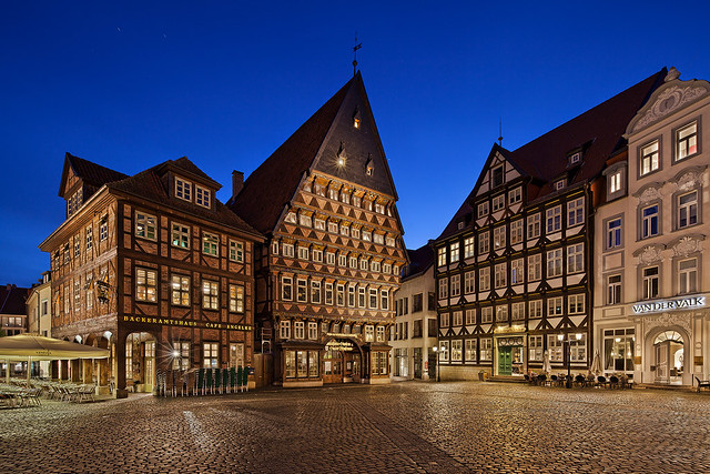 Marketplace of Hildesheim