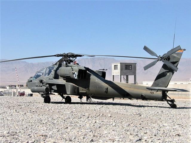 AH-64D Apache 00-05174 1-285Avn Arizona-National-Guard, U.S.Army. Tarin Kowt, Uruzgan, Afghanistan. September 2007.