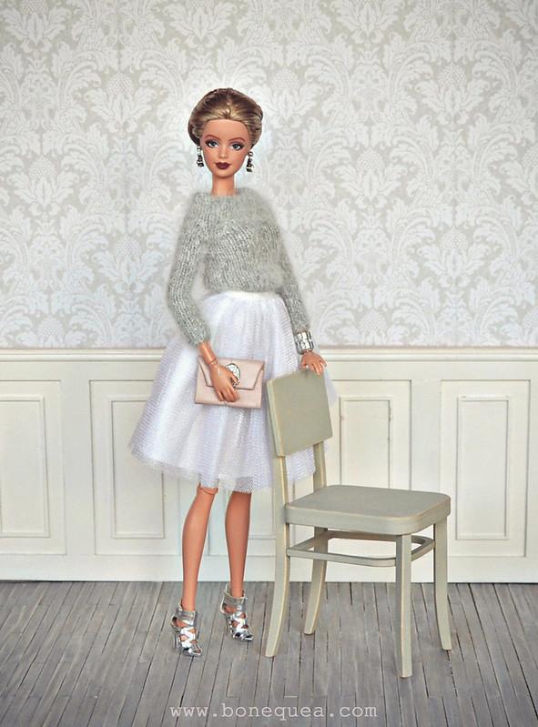 Ooak Barbie and Minimagine