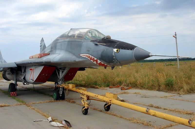 МиГ-29УБ точка опоры 5