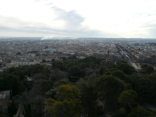 view over Nimes