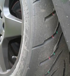 Tyre wear | by DataHamster