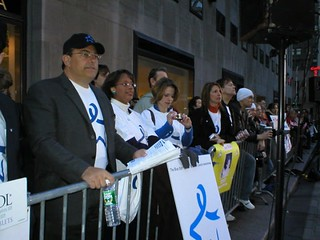 Blue Star At The Today Show Colon Cancer Alliance And Hada Flickr