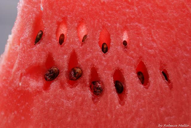 A piece of watermelon....