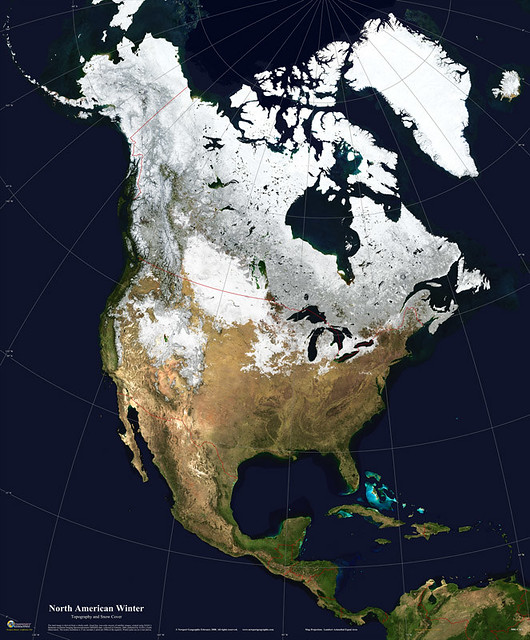5006-1_04A_LRG   Satellite Map of North America: Winter Snow ... on future map of north america, printable map of north america, erie canal map north america, geophysical map of north america, vancouver north america, view satellite map north america, topographical map of north america, physical map of north america, realtors of america, ecological map of north america, satellite imagery, neon map of north america, airports of north america, satellite middle east map, aerial photograph of north america, current temperature map north america, iowa map of north america, relief map of north america, population density map of north america, city of north america,
