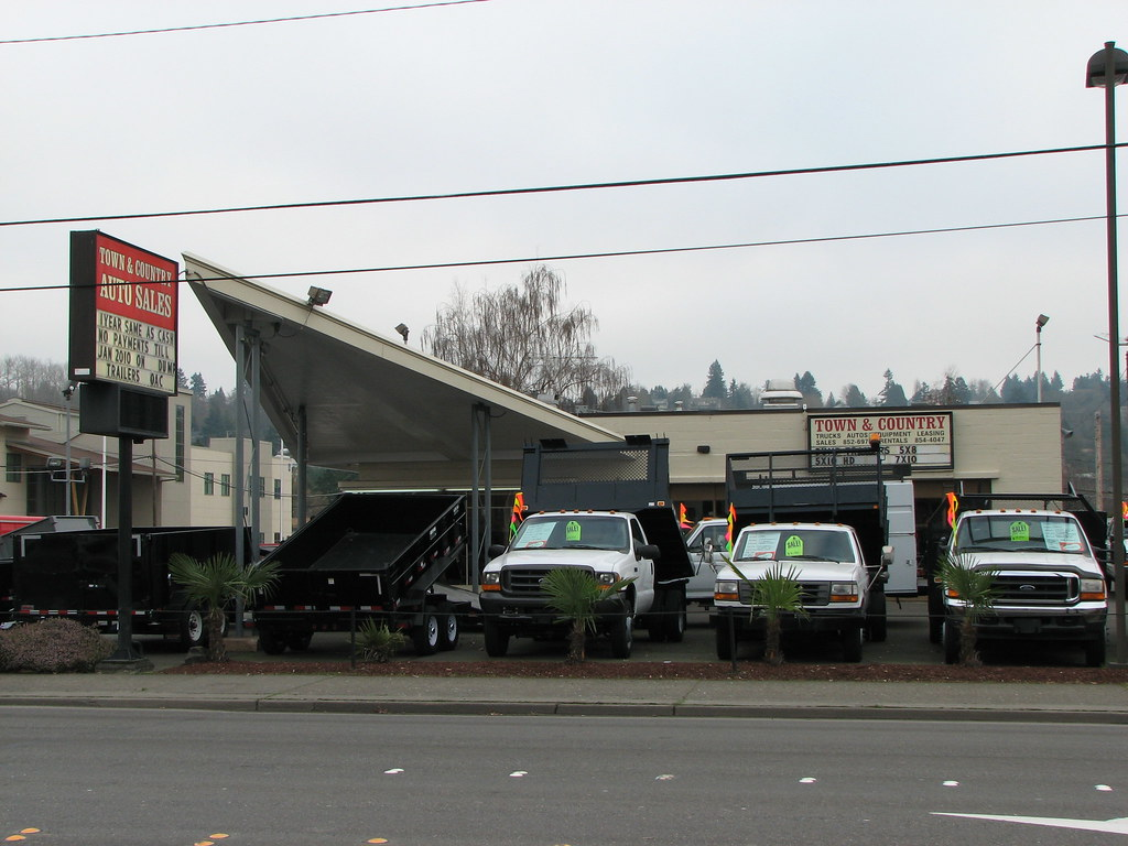 Town And Country Auto Sales >> Town Country Auto Sales Kent Wa An Old Gas Station M