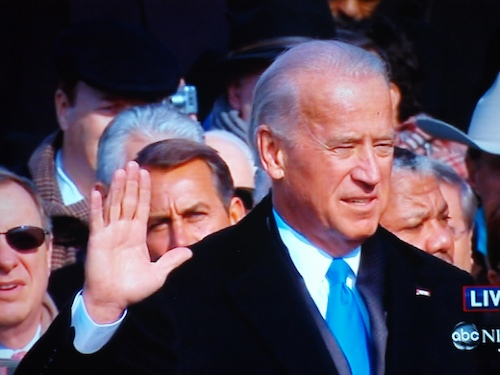 Biden Taking Vice Presidential Oath of Office, From CreativeCommonsPhoto