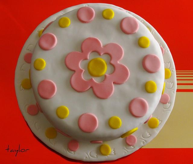 Cake marshmallow