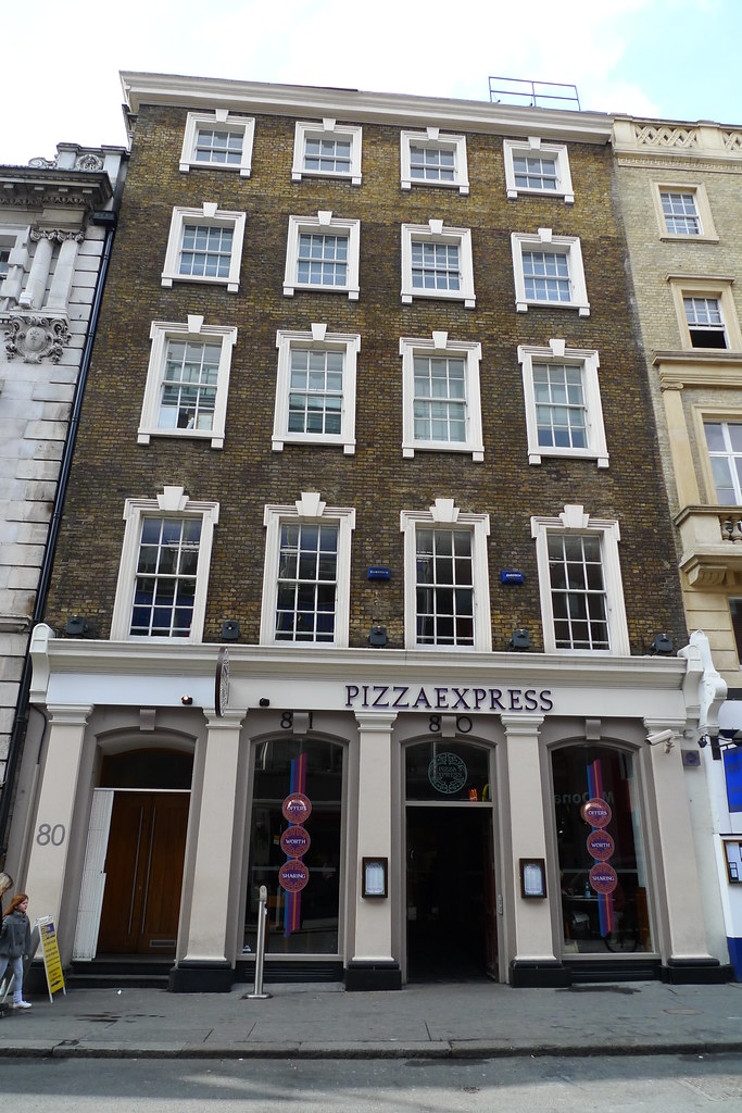 Pizza Express Covent Garden Wc2 The St Martins Lane Bran