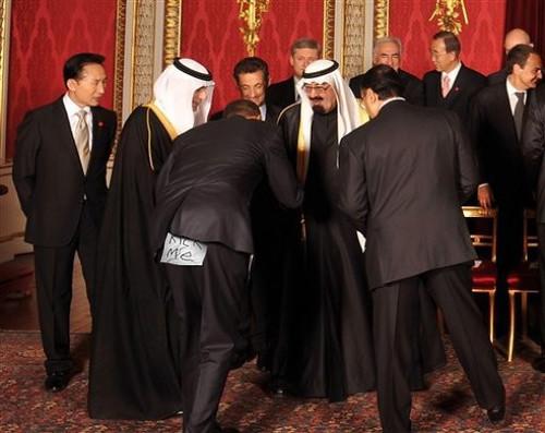 Obama Bows to Saudi King | by HitAndRun