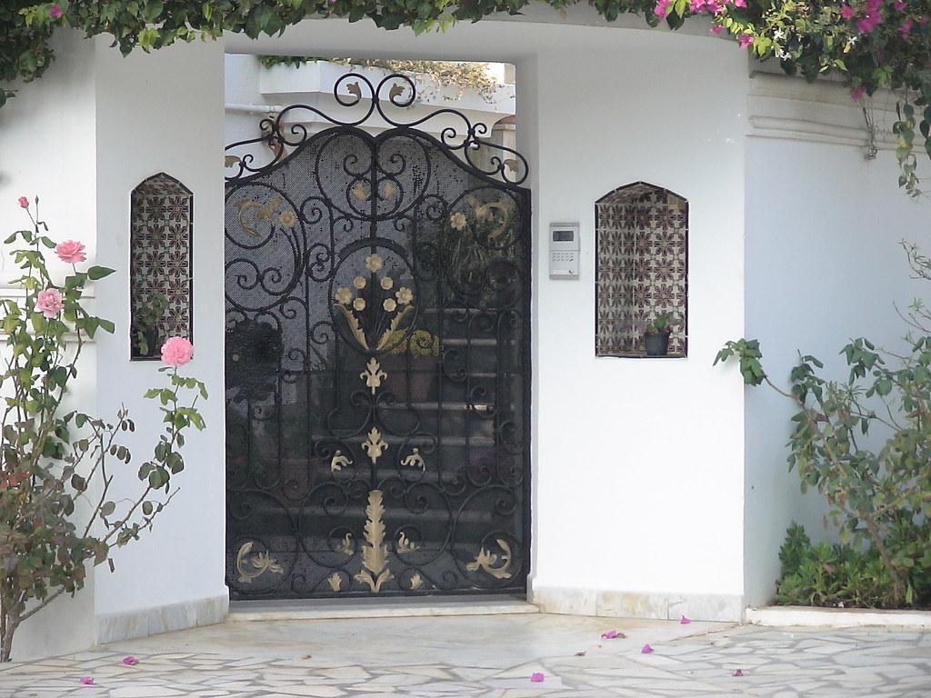 Style De Porte Exterieure En Fer Forgé Tunis Maisons