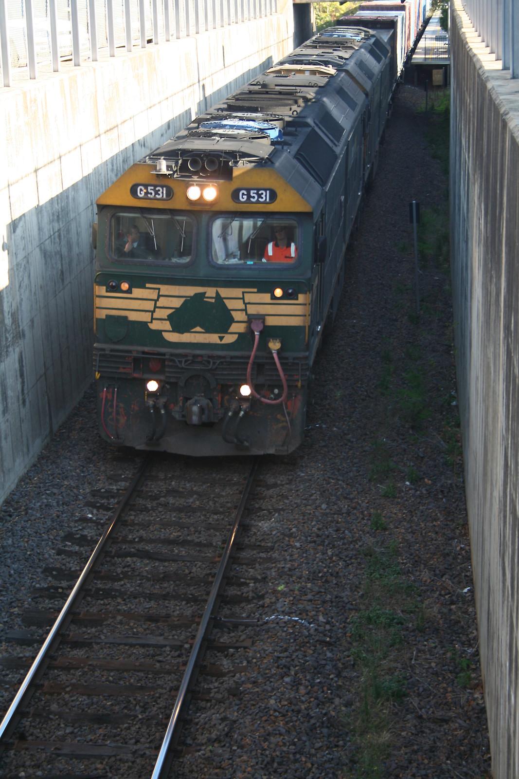 20090501_2920 G 531 at Wangaratta Station by williewonker