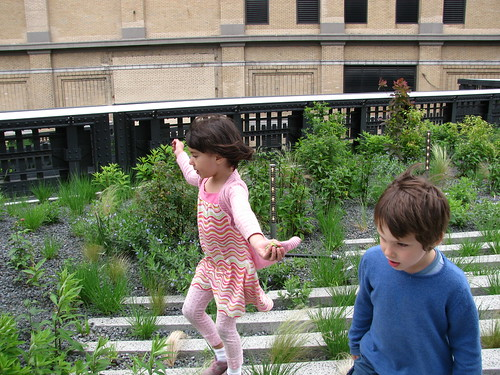 Eden and Finnegan on the High Line | by edenpictures