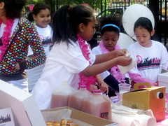 Lower EastSide Girls Club Walk a Thon