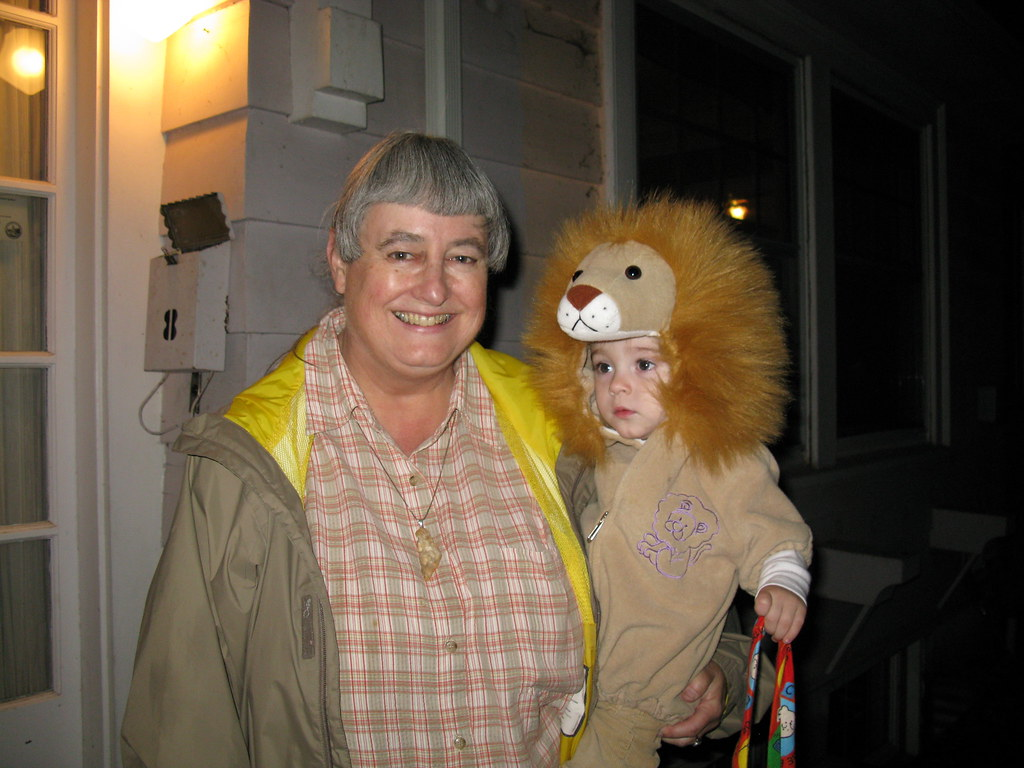 Trick or Treat with Grandma