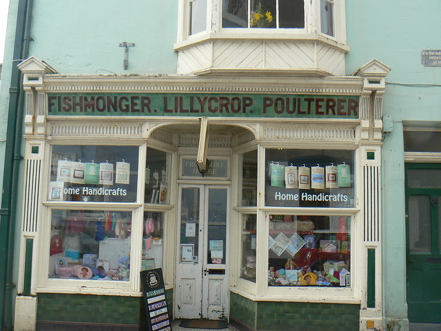 Old Fashioned Shop Front,Tenby