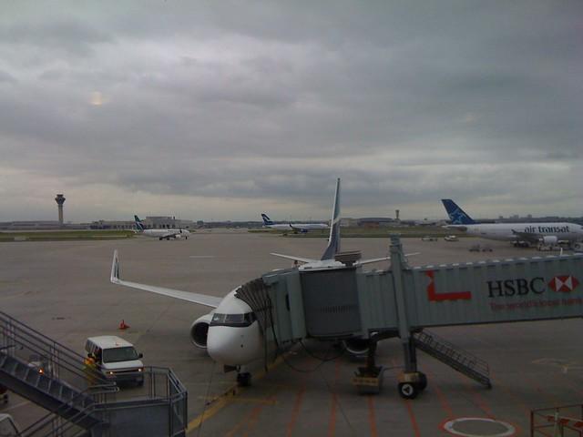 Boarding WestJet at YYZ