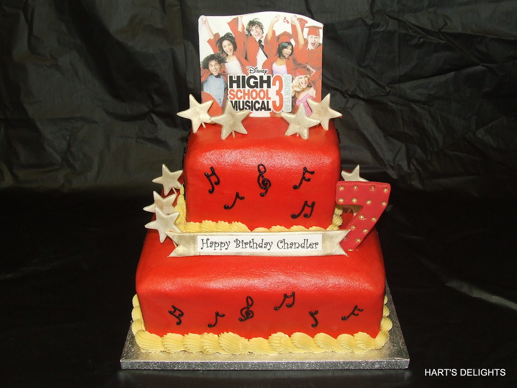 Marvelous High School Musical Birthday Cake High School Musical 3 Fo Flickr Funny Birthday Cards Online Alyptdamsfinfo