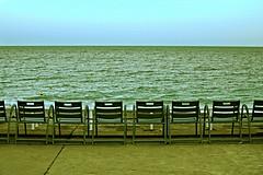 Chaises Vides - Promenade des Anglais