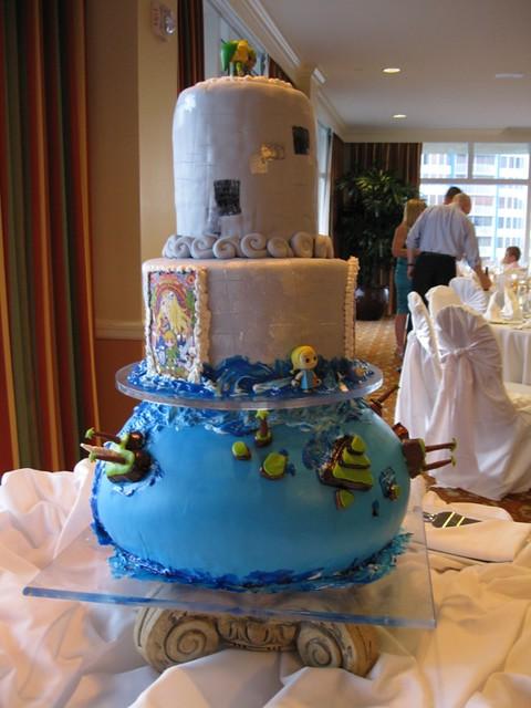 Legend Of Zelda Wedding Cake Julie Hill Flickr