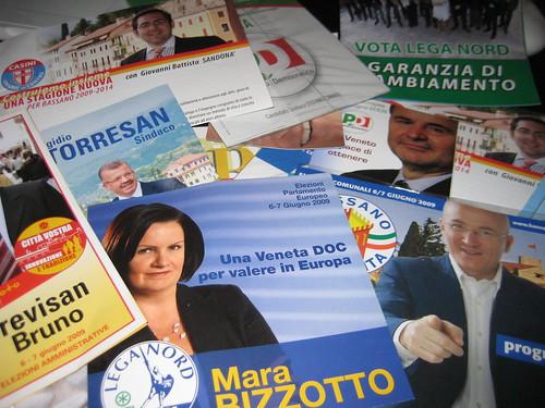 Wahlwerbung Europawahl