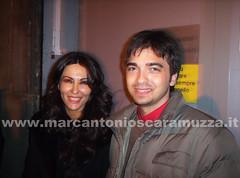 Marcantonio Scaramuzza e Sabrina Ferilli