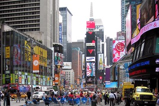 Times Square and pedestrian area | by runneralan2004