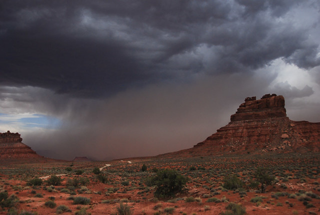 Storm in Valley of Gods... 20090530_9665