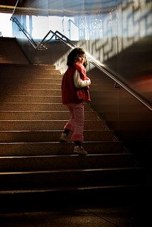 Girl on Stairs | by Neil Wade