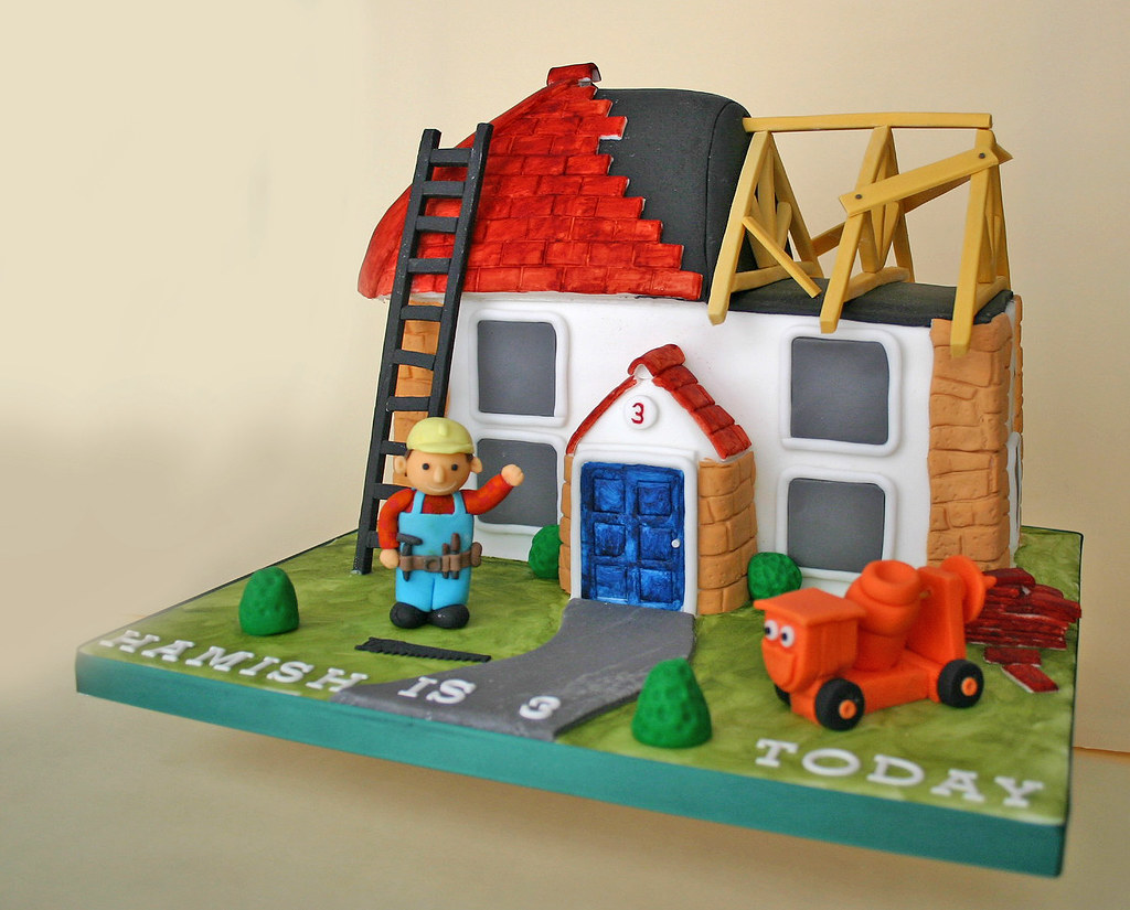 Stupendous Birthday Cake 195 Bob The Builder Dizzy Paula Jane Bourke Funny Birthday Cards Online Elaedamsfinfo