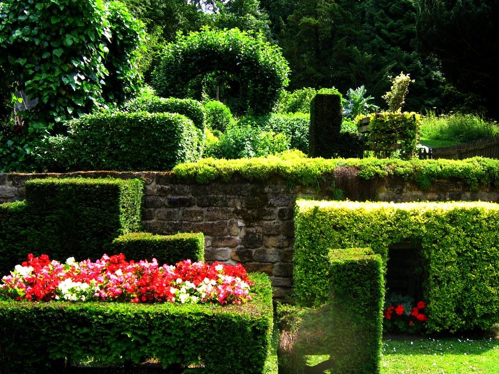The Ingenious Cottage Garden at Chatsworth, Derbyshire