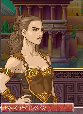 Phoebe The Priestess The Fantasy Art Of Computer Games The