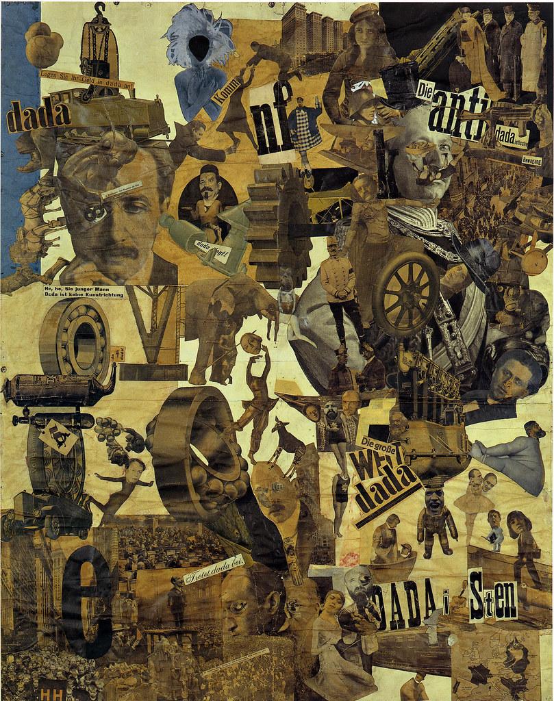 collage dada de Hannah Höch