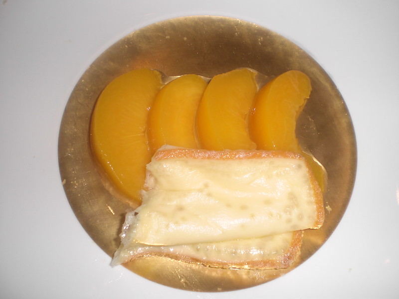 #046 Raclette with peaches