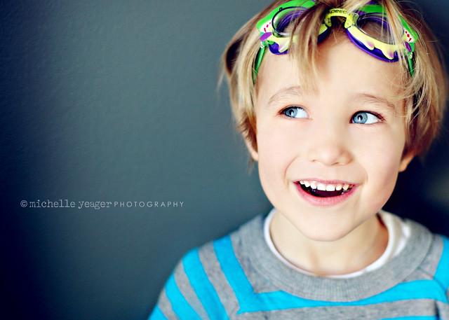 My blue eyed boy.
