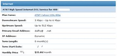 My AT&T High Speed DSL Account | by Dalfry
