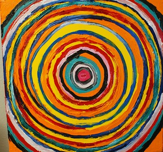 Circle Painting | by Eugene Murray