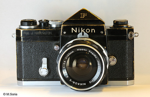 Nikon F used in Vietnam War | by frikosal