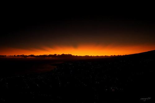 light red sea sky sun mer mountain reflection reunion montagne sunrise landscape rouge island fire coast soleil town ray view lumière north violet côte relief reflet ciel rayon vue ville feu nord stdenis lever aurore semaryp