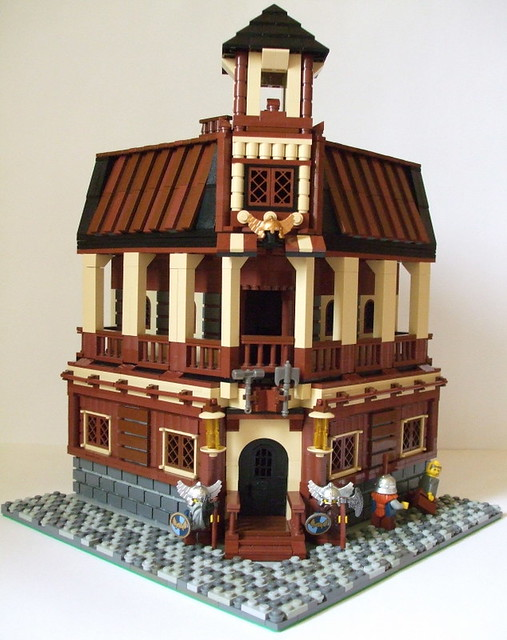 Medieval Cafe and Market Street