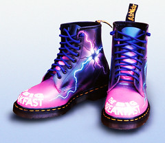 Custom Dr Martens - Big Breakfast Dani Behr