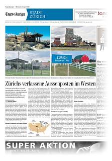 My pic in Swiss Newspaper