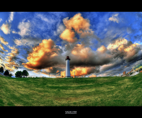 california ca sunset lighthouse colors clouds marina nikon searchthebest fisheye queenmary longbeach adobe shorelinepark hdr longbeachaquarium d300 cs3 thepike tonemapped 9exp 105mm28 stephenmoore photoshopcs3 smgallery nikond300 photomatixpro31