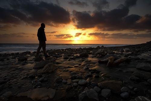 Sunset Silhouette on Cooksie Creek by AlwaysJanuary (Randy)