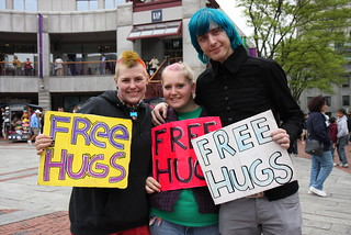 Boston 40: free hugs | by ooitschristina