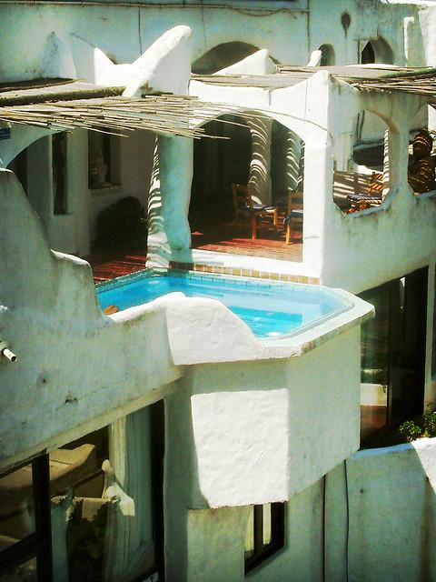 Wet balcony