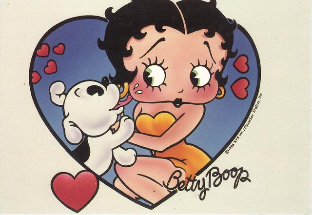 Betty Boop Postcard