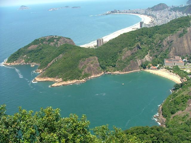 Praia Vermelha e Copacabana - Rio de Janeiro - Brasil